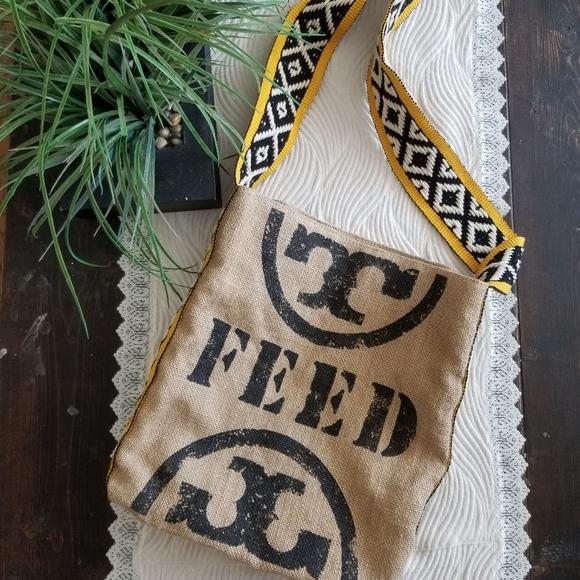 👜TORY BURCH FEED TOTE BAG